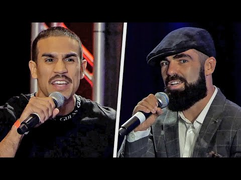 WORDS EXCHANGED! Andy Vences vs. Jono Carroll [ FINAL PRESS CONFERENCE ] Holyfield vs Belfort