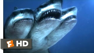 3 Headed Shark Attack (4/10) Movie CLIP - Dying to Be a Distraction (2015) HD