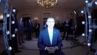 Scanning U.S. President Barack Obama with Artec Eva 3D Scanner