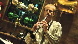 Minor Swing on clarinet