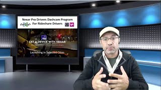 Nexar Free Dashcam Program for Uber and Lyft Rideshare Drivers