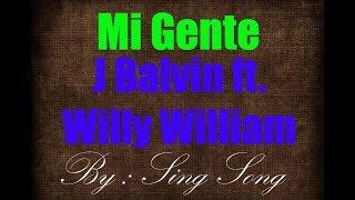 J Balvin ft. Willy William - Mi Gente Karaoke No Vocal