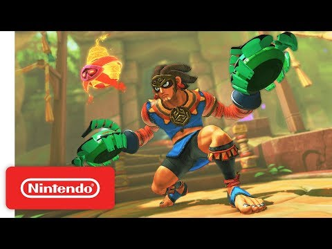 WTFF::: Nintendo Switch\'s ARMS Latest Update Introduces New Fighter, Misango