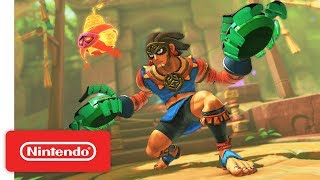 Nintendo Switch\'s ARMS Latest Update Introduces New Fighter, Misango