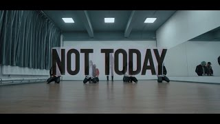 [OUTCASTS] BTS - Not today (Dance Cover) Practice ver.
