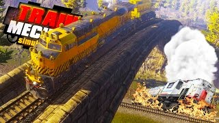 TRAIN GOES MISSING IN THE DESERT! Search and Rescue! - Train Mechanic Simulator 2017 Gameplay Ep 5