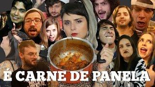 CARNE DE PANELA (Paródia BAILE DE FAVELA) ft. YOUTUBERS