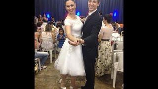 Valsa de Casamento Coreografada - Apresentação Coreógrafos Sabrina e Cleiton  (Wedding Waltz)