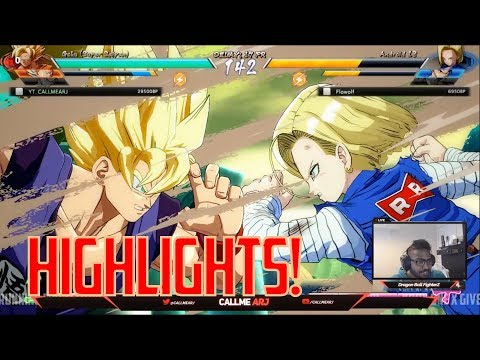 Dragon Ball FighterZ Beta HIGHLIGHTS #1 [Adult Gohan, Goku, Vegeta, Nappa Team]