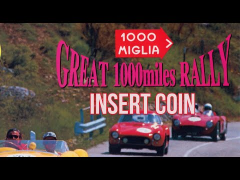 1000 Miglia: Great 1000 Miles Rally (1994) - Arcade - Partida Completa