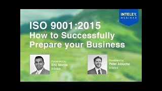 ISO 9001:2015  How To Successfully Prepare Your Business width=