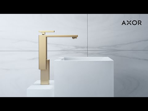 AXOR Edge | Architectural bathroom design