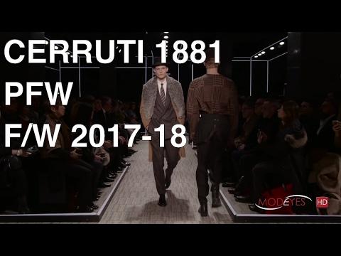 CERRUTI 1881 | MEN FALL WINTER 2017-2018 | FASHION SHOW