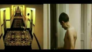 Naked man gets locked outside hotel room Vs. Mr Bean in Room 426