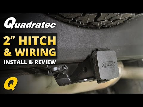 Jeep Wrangler Hitch & Trailer Wiring Harness Install & Review for 2007-2018 JK