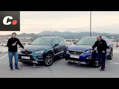 Peugeot 3008 SUV vs Seat Ateca | Comparativa | Prueba / Test / Review en español | Coches.net