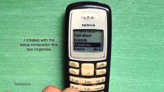 Nokia 2100 retro review (old ringtones, games & wallpapers)