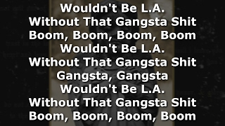 King Lil G - L.A. Vibe (With Lyrics On Screen)-2017