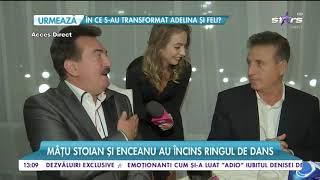 Petrică Mâţu Stoian şi Constantin Enceanu au încins ringul de dans la o petrecere