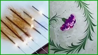 Art And Craft | Painting Hacks 5 Minute Crafts | Painting For Beginners