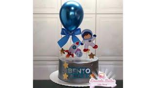 MEU PRIMEIRO BOLO ASTRONAUTA | MÊSVERSÁRIO BABY BENTO