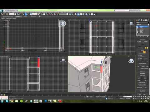 3ds Max 2012 - Ev Modeli | Özakademi Teknik ve Mesleki Eğitim Kurumları