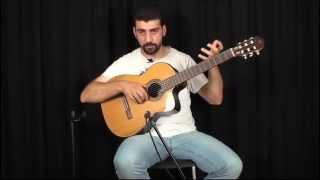 Anlatımlı Klasik Gitar Apoyando Tekniği width=
