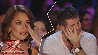 This audition made ALL judges CRY - Simon Cowell Crying! NEVER SEEN BEFORE (x factor parody)
