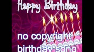 Happy Birthday Song [ no copyright song ]