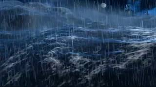 Animation Thunder Ocean strom  vfx realistic 3D  After Effects