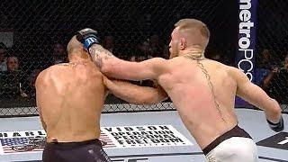 Conor McGregor Vs. Eddie Alvarez Highlights: Conor McGregor Makes History at UFC 205