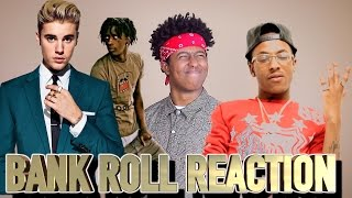 DIPLO - BANK ROLL FT JUSTIN BIEBER, RICH THE KID & YOUNG THUG (REACTION)