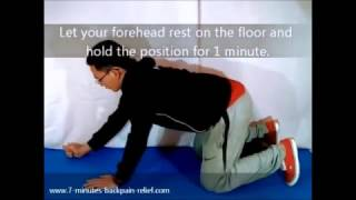 Back Stretch For Back Pain  - Super Stretch Elbow Extension