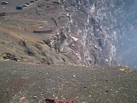 Cráter Santiago Volcán Masaya Nicaragua