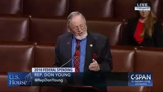 "Rep. Don Young tries to lecture ""Young Lady"" Rep. Pramila Jayapal. Check out her response!"