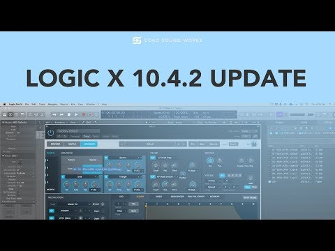 Apple Updates Logic Pro X, Mainstage And Alchemy