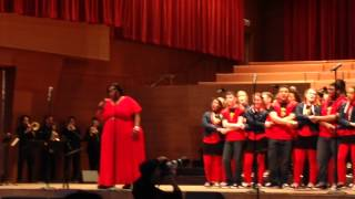 We Shall Overcome, featuring soprano soloist and CCC alum Jonita Lattimore, with Voice of Chicago a