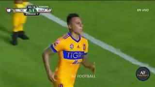 GOLAZO DE EDUARDO VARGAS ! Tigres vs Lobos BUAP 2 1 Jornada 7 Apertura 2017 HD