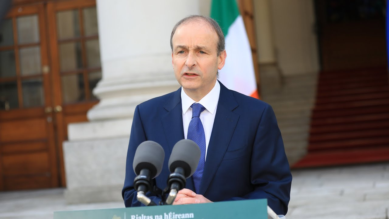 Taoiseach Micheál Martin Announces Easing of Covid-19 Restrictions