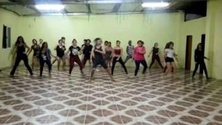 Flor de reggae - Ivete Sangalo Coreografia