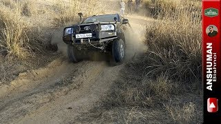 Ironman Fortuner, Thar, Scorpio MLD, Endeavour: Offroad Obstacle#1- 25Mar17