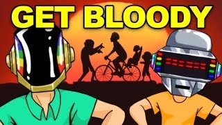 "DAFT PUNK ""Get Lucky"" Parody (Happy Wheels Song with Subtitles)"