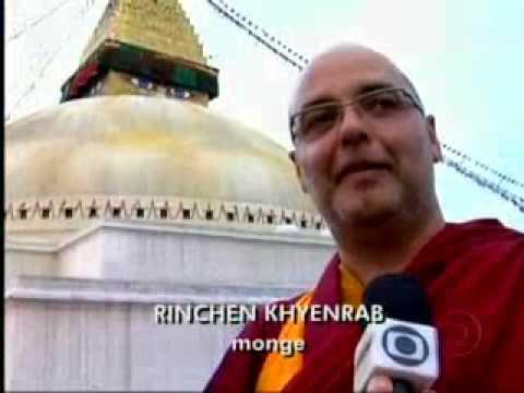 Lama Rinchen Khyenrab no Globo Repórter