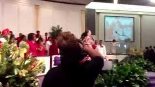 "Kimberly Morton Powell, Women's Day 2013 at New Beginning FGBC. ""Same God"" by Tye Tribbett"