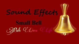 No Copyright Sound Effects | Small Bell Ringing | PalsLivesLife