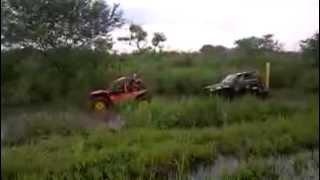 gaiola 4x4 kart cross motor CB500 x jeep AP 1.8 turbo