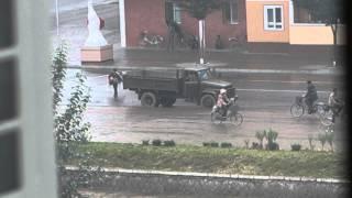 Morning Propaganda in North Korea
