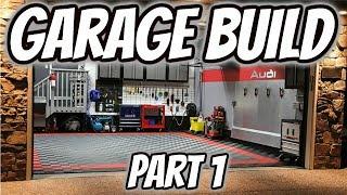 Madness Garage Build part 1