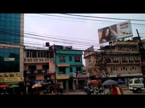 downtown Kathmandu Nepal
