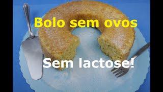 BOLO DE FUBÁ SEM OVOS (Sem lactose e Delicioso!)
